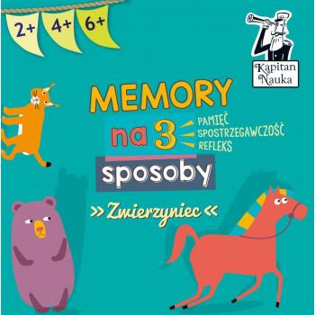 Memory na 3 sposoby Zwierzyniec. Nowa edycja