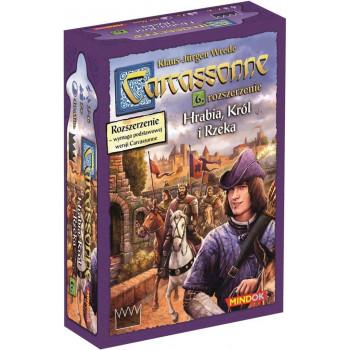 Carcassonne 6 - Hrabia, król i rzeka Edycja 2