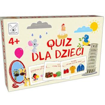 Quiz dla dzieci 4+