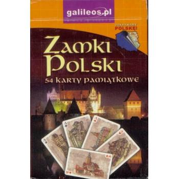 Karty pamiątkowe - Zamki Polski
