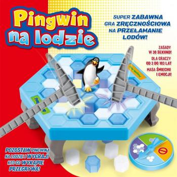 Gra - Pingwin na lodzie LUCRUM