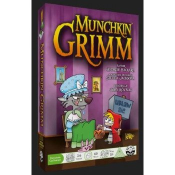 Munchkin Grimm BLACK MONK