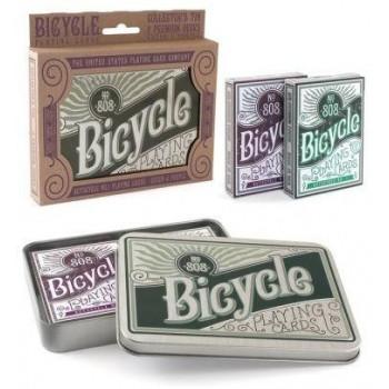 Karty Retro Tin Gift Set BICYCLE