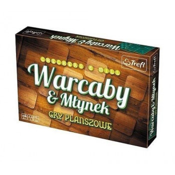 Warcaby/ Młynek klasyczny TREFL