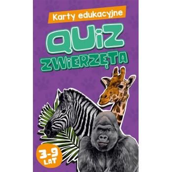 Karty edukacyjne. Quiz Zwierzęta