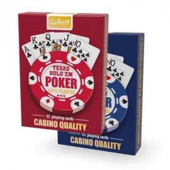 Plastik Poker TREFL