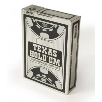 Karty do gry Texas Hold'm Poker czarny CARTAMUNDI