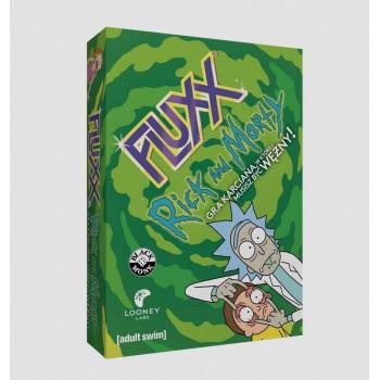 Fluxx Rick and Morty BLACK MONK