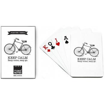 Cycling Karty do gry białe talia 55 kart