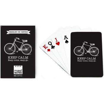 Cycling Karty do gry czarne talia 55 kart