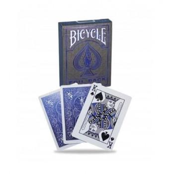 Karty Metalluxe niebieskie BICYCLE