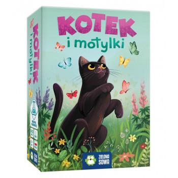 Gra - Kotek i motylki