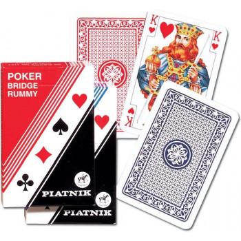 """Karty pojedyncze """"Poker-Brydż"""" PIATNIK"""