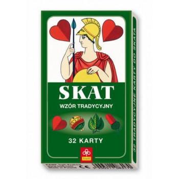 Karty - SKAT - wzór tradycyjny TREFL