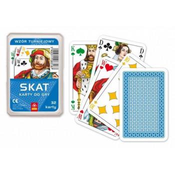 Karty - SKAT - awers turniejowy TREFL