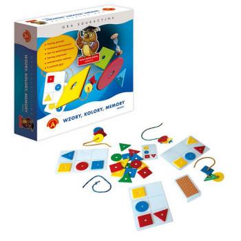Wzory, kolory, memory Maxi ALEX