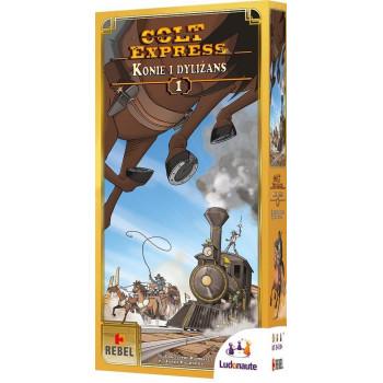 Colt Express: Konie i dyliżans REBEL