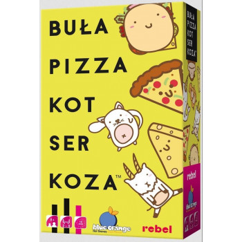 Buła, Pizza, Kot, Ser, Koza REBEL