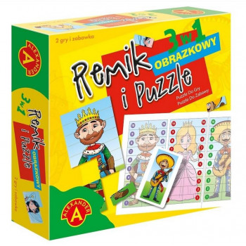 Remik obrazowy i puzzle ALEX