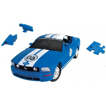 Puzzle 3D Cars - Ford Mustang - poziom 3/4 G3