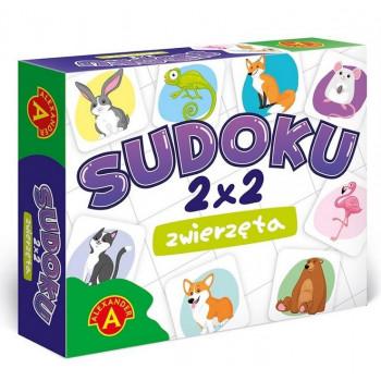 Sudoku 2x2 Zwierzęta ALEX