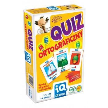 IQ Quiz ortograficzny GRANNA
