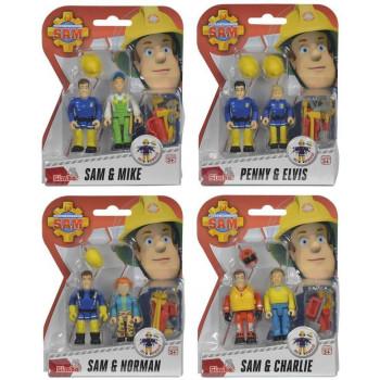 Strażak Sam 2 figurki, 4 rodzaje