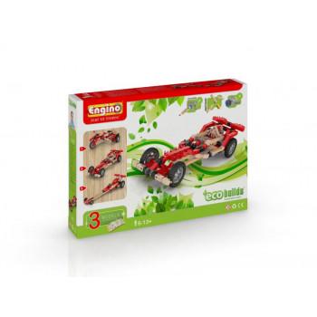 Eco motorized racer- samochody z silniczkiem