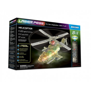 Klocki laser pegs 8 w 1 Helicopter