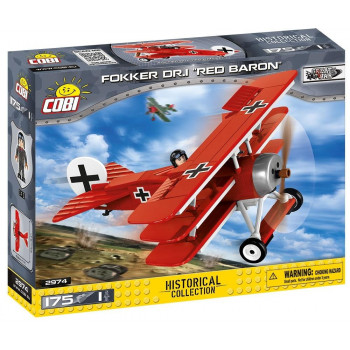 Small Army Fokker Dr. I Red Baron