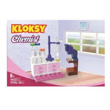 Klocki Kloksy Chemiczka 40 elementów