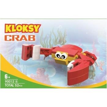 Klocki Kloksy Zwierzęta krab 52 elementy