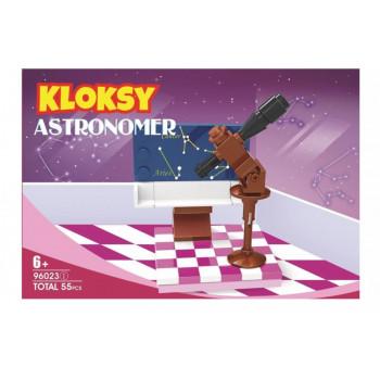 Klocki Kloksy Zostań astronomem 55 elementów