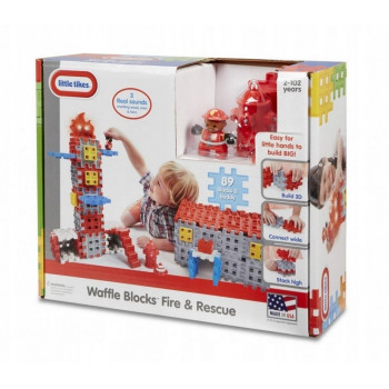 Waffle Blocks Straż pożarna i strażak