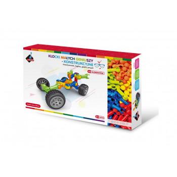 Klocki konstrukcyjne w pudełku 40 elementów