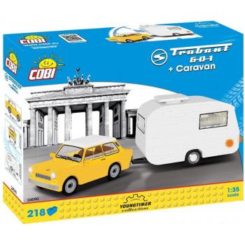Cars Trabant 601 + Caravan