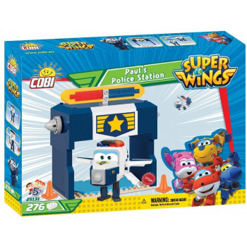 Super Wings Paul's Police Station