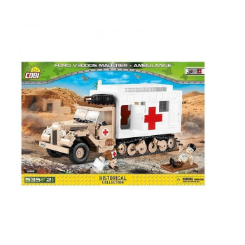 Small Army Ford V3000S Maultier Ambulance