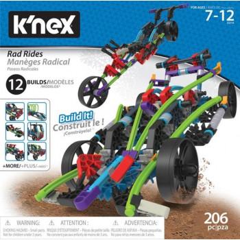 K'nex Rad Rides - Zestaw konstrukcyjny pojazdy