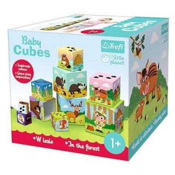 Little Planet - Baby Cubes W lesie TREFL