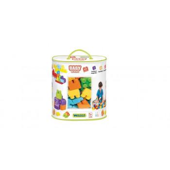 Baby Blocks Torba 60 elementów