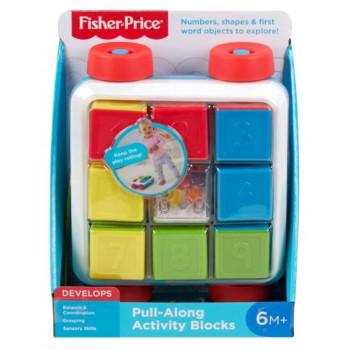 Fisher Price Klocki aktywizujące do ciągnięcia