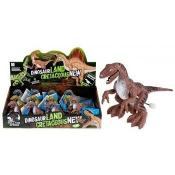 Dinozaur nakręcany 13cm mix