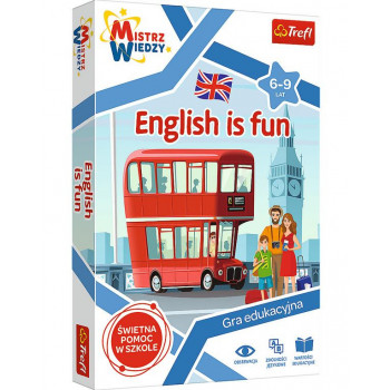Mistrz wiedzy - English is Fun TREFL