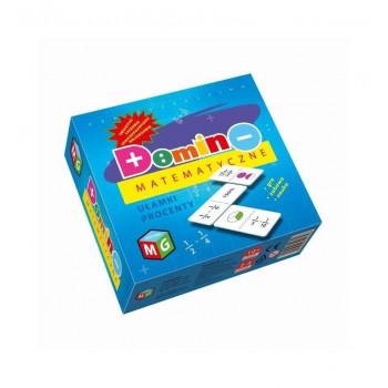 Domino Matematyczne ułamki