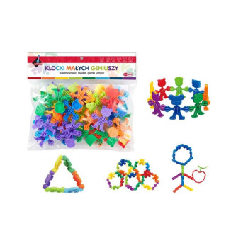 Klocki - puzzle 34 elementy