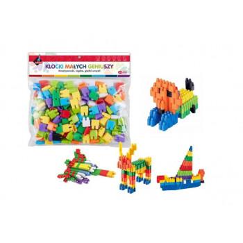 Klocki - puzzle 160 elementów