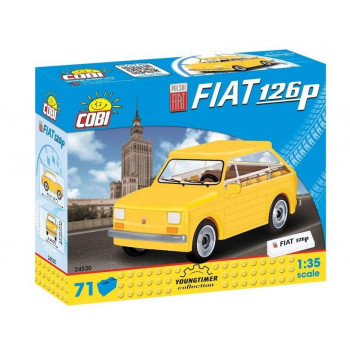 Cars Polski Fiat 126p 71 klocków