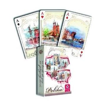 POLSKA AKWARELE - talia 55 kart