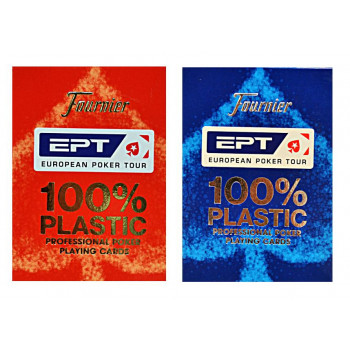 Karty EPT 100% Plastic mix FOURNIER